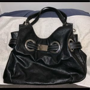 Black Nine West Hobo Bag